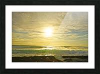Splash - Sunset Hawaii Picture Frame print