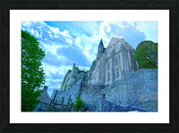 A Day at Mont Saint Michel 9 of 12 Picture Frame print