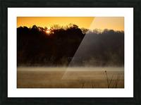 Sunrise at Langley Pond Park   Aiken SC 7R301610 12 19 20 Picture Frame print
