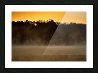 Sunrise at Langley Pond Park   Aiken SC 7R301594 12 19 20 Picture Frame print