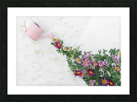 Daltana Spring Griall Picture Frame print