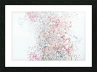 Daltana Pastel Floral Ceiala Picture Frame print
