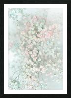 Daltana Pastel Floral Bina Picture Frame print