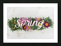 Daltana Spring Irill Picture Frame print