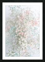 Daltana Pastel Floral Aera Picture Frame print