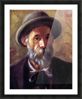 Self Portrait 1 by Renoir Picture Frame print