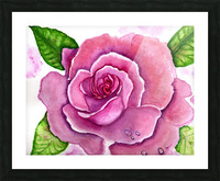 Magnificent Rose Picture Frame print