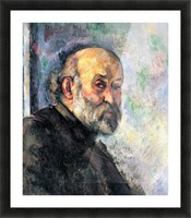 Self Portrait 4 by Cezanne Picture Frame print