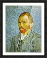 Self Portrait by Van Gogh Picture Frame print
