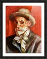 Self-Portrait 1910 by Renoir Picture Frame print