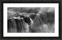 Demonstration of Power by Zan Zhang  Picture Frame print
