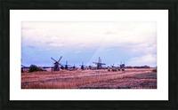 Wonderful Windmills Picture Frame print