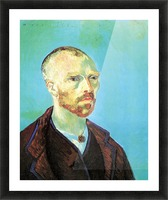Self-Portrait Dedicated to Paul Gauguin Picture Frame print