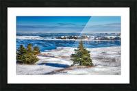Pointe Saint-Pierre et lIle Plate Picture Frame print