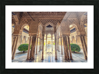 Alhambra Picture Frame print