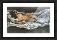 Nude by Lovis Corinth Picture Frame print