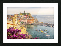Vernazza Picture Frame print