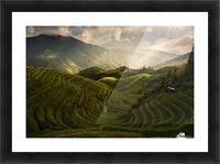 A Tuscan Feel in China Picture Frame print