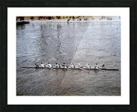 Paris Rowing 1975   2 Picture Frame print