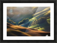 Tuscany Sunrise Picture Frame print