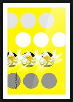 Lotus 3 Picture Frame print