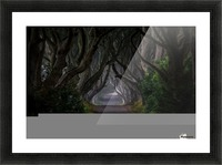 Magic road Picture Frame print