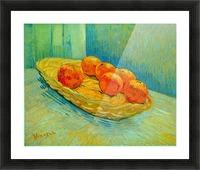 Six Oranges by Van Gogh Picture Frame print