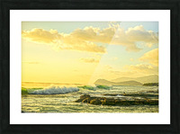 Perfect Day - Sunset Hawaiian Islands Picture Frame print