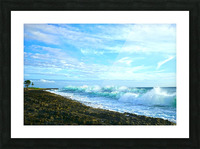 Blue Day - Hawaiian Islands Picture Frame print