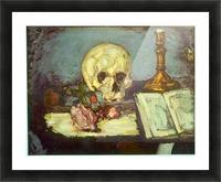Skull by Degas Impression et Cadre photo