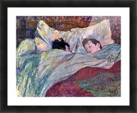 Sleeping by Toulouse-Lautrec Picture Frame print