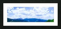 The Sawatch Range Colorado Picture Frame print
