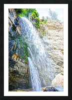 Rocky Mountain Rapids and Waterfalls 5 of 8 Picture Frame print