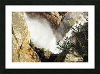 Rocky Mountain Rapids and Waterfalls 4 of 8 Picture Frame print