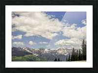 Back Country Colorado 5 of 8 Picture Frame print