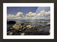 Majestic View Picture Frame print
