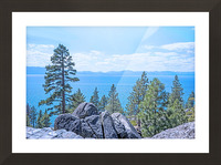To the Horizon Picture Frame print