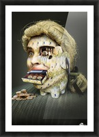 The Miser Molier by DDiArte   Picture Frame print