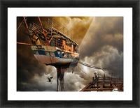 Nimfa Picture Frame print