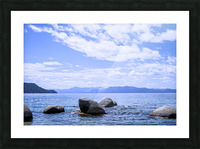 Perfect Day at the Lake - California Picture Frame print