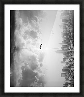 crossing Picture Frame print