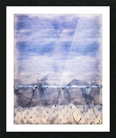 The Prisoner Picture Frame print
