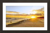 The Summer Sun Sets in the Carolinas Picture Frame print