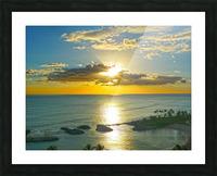 Island Dreamin - Hawaii Sunset Picture Frame print