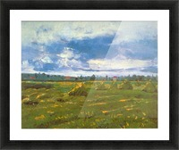 Stacks by Van Gogh Picture Frame print