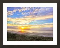 Carolina Sunrise Picture Frame print