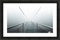 The Path to Infinity Picture Frame print