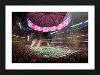 Alabama National Championship 1-8-18 Picture Frame print