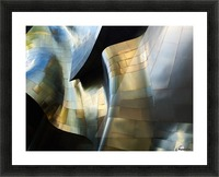 Organic Metal 3 by David Reams  Picture Frame print