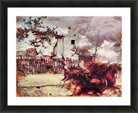 Outskirts of Paris by Giovanni Boldini Picture Frame print